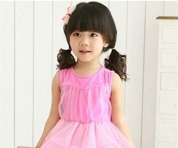 流行发型 蘑菇头 >> 小孩蘑菇头短发应该怎样扎好看 小女孩蘑菇头短发