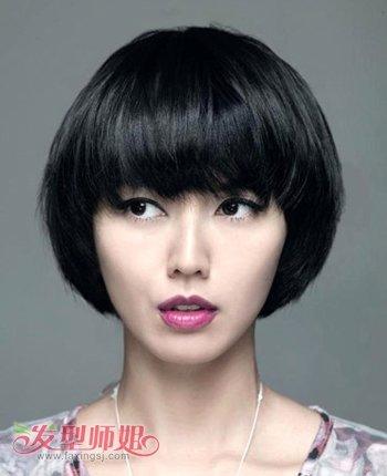 长脸适合沙宣短发吗 长脸短发沙宣发型 发型师姐