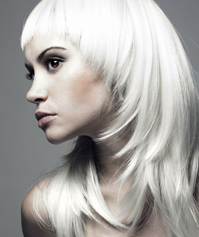 白发染发非主流发型图片图片