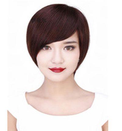 沙宣短发发型图片 学生短发沙宣发型(3)图片