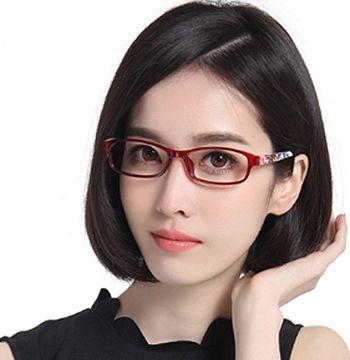 职场眼镜美女手绘