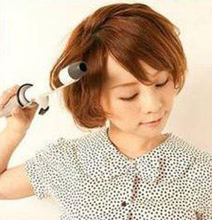 学生头短发怎样编头发 漂亮学生头编发图解