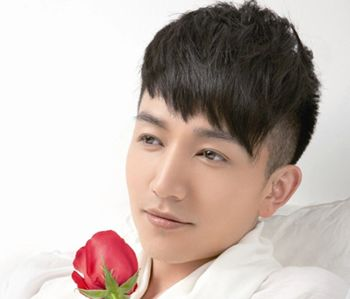 发型脸型 长脸 >> 适合长脸男生的二分区发型 长脸男生发型设计图片(2图片