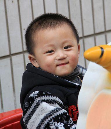 图片|0到1岁婴儿发型男帅气|1岁男宝宝简单好看发型|男宝宝个性发型