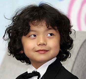 男童烫发发型图片 男儿童烫发发型设计图片