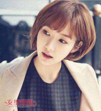 最流行的韩式bobo发型