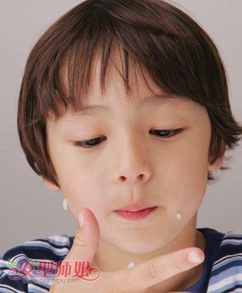 七岁小男孩适合什么发型 六七岁小男孩发型图片