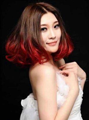 中分短发染什么渐变色好看 短发渐变色发型图片 发型师姐