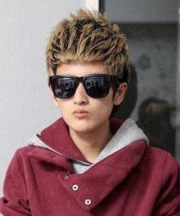 男生烫什么发型好看 适合男生的烫发发型图片图片