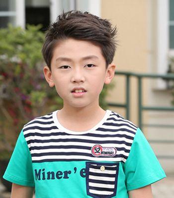 六岁小男孩发型设计 适合六岁小男生的发型图片(4)图片