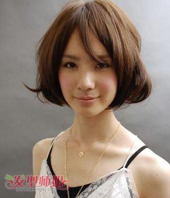长脸女生剪什么短发型好看 女性长方形脸型适合的短发发型图片