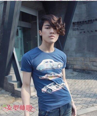 非主流男生时尚发型 男生非主流长发发型图片
