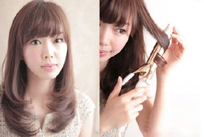 圆脸女学生适合什么发型 简单圆脸发型扎法步骤图片