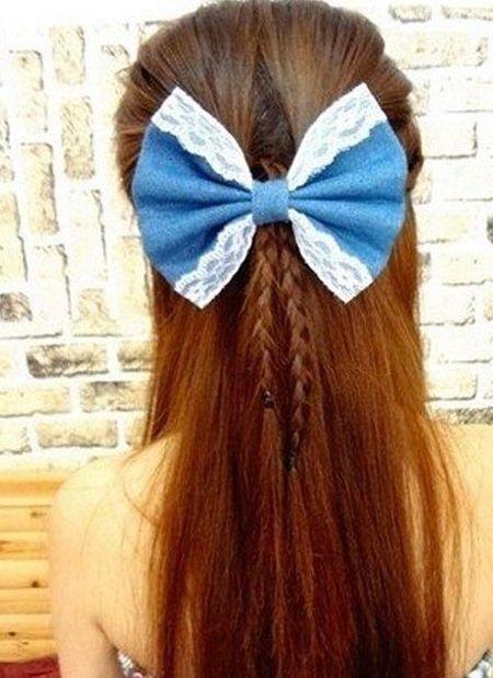 (点小图查看大图) 长直发发型扎法是长直发女生必须掌握的美发设计