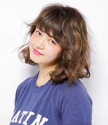 方脸型适合烫怎么样的短发 方脸短烫发发型图片图片