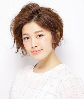 方脸型适合烫怎么样的短发 方脸短烫发发型图片(3)图片