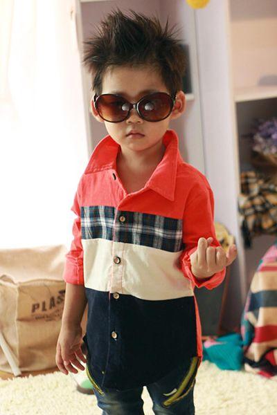 3岁男孩子发型 3周岁男宝宝发型设计