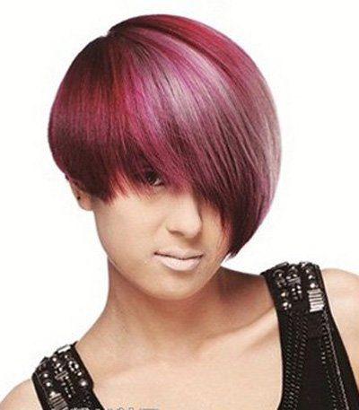 头发少有点带方脸的女生适合什么发型 发量少脸方形适合长发还是短发图片