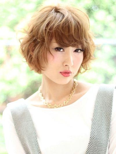 女士发型波波发型纹理烫 女生纹理烫波波短发(2)图片