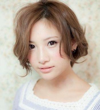 圆脸的人适合什么短发发型 时尚短发发型设计图片(2)图片