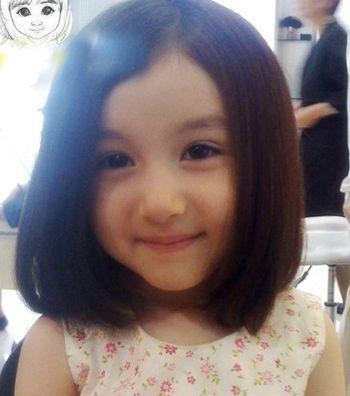 女童可爱bobo头发型 宝宝波波发型图片(2)