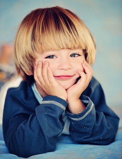 男宝宝超短发型图片 男宝宝好看的发型图片(2)图片