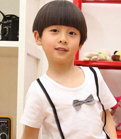 男宝宝的发型 韩国男宝宝流行发型图片