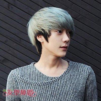 男生怎样染头发好看 男生前面怎么染头发 发型师姐