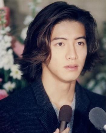 日本男明星长发发型 2015年男生长发发型图片(2)图片