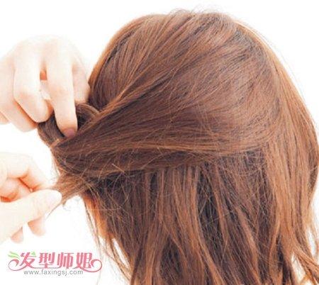 发型设计 学生发型 >> 中学生齐肩长发怎么扎 学生齐肩短头发怎么扎图片