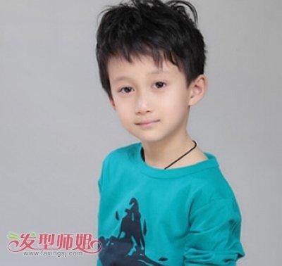 三岁发型酷酷的图片短发三岁男孩可爱男孩_发海清头型图片头型图片