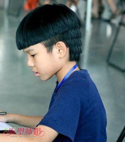 关于5岁男童发型图片图片