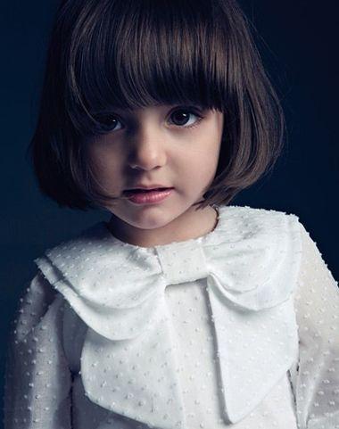大脸小学生适合什么样的短发 大脸小学女生短发发型