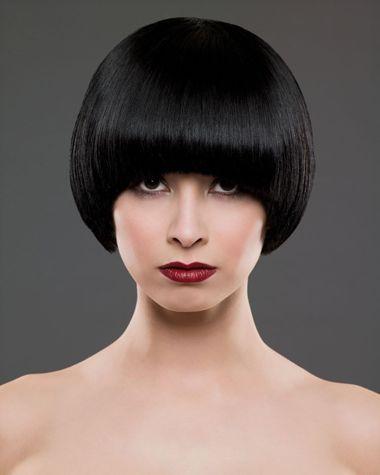 小长脸女生是烫发还是沙宣发好看 长脸型剪沙宣头发型图片 4