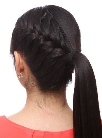 蝎子头发型扎法 蝎子辫的各种发型图片