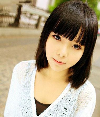 胖脸发型设计视频_胖脸女学生适合的短发 脸胖的学生适合平刘海吗(2)_发型师姐