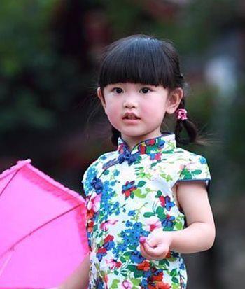 小孩编辫子发型扎法 幼儿短发扎辫子发型(4)