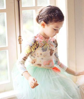 小孩编辫子发型扎法 幼儿短发扎辫子发型(3)