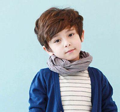 男童烫发发型图片 男儿童烫发发型设计_发型师姐图片