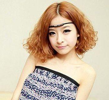 发型设计 短发 >> 女生短头发纹理图片 短头发纹理烫如何选择烫发棒图片