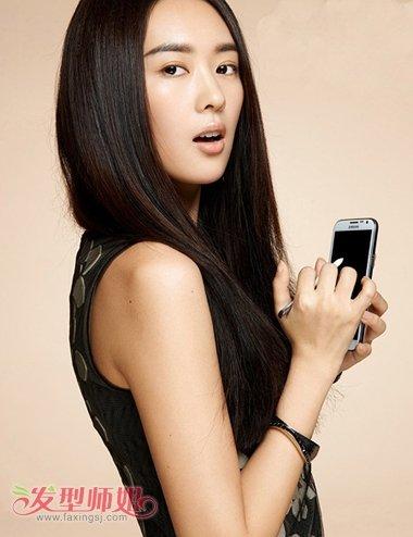 长脸型适合直发吗 长脸窄额头适合烫发还是直发图片