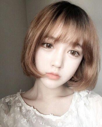 瓜子脸短发发型大全 最新瓜子脸女生短发发型图片