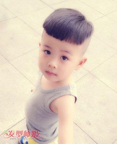 3岁图片最流行短发宝宝3岁男短发时尚发型女生方脸男孩适合焦俊艳发型吗图片