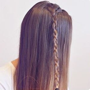 中学生怎么扎辫子发型好看 多种辫子发型扎法(2)图片