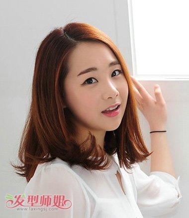 2017年长脸型适合的短发型 女生长脸短发发型(2)图片