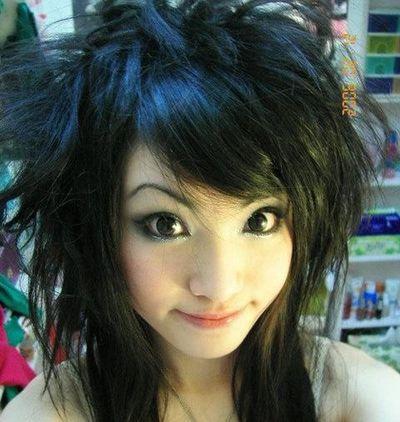 长发发型圆脸非主流 适合圆脸的非主流发型(2)图片