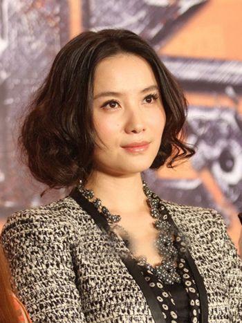 中老年最新短发烫发发型 中老年烫短发发型图片(3)图片