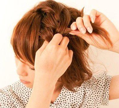 长脸短发该扎什么辫子 长脸女生适合的发型扎法图解(2图片