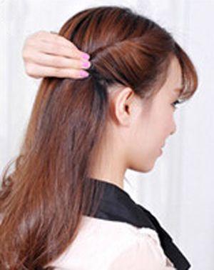 丸子头发型,和详细的扎发步骤