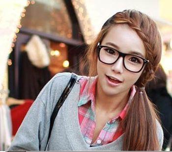 女生适合的发型学生怎么扎头图片 大脸小眼睛女学生怎样扎头发好看(4)图片